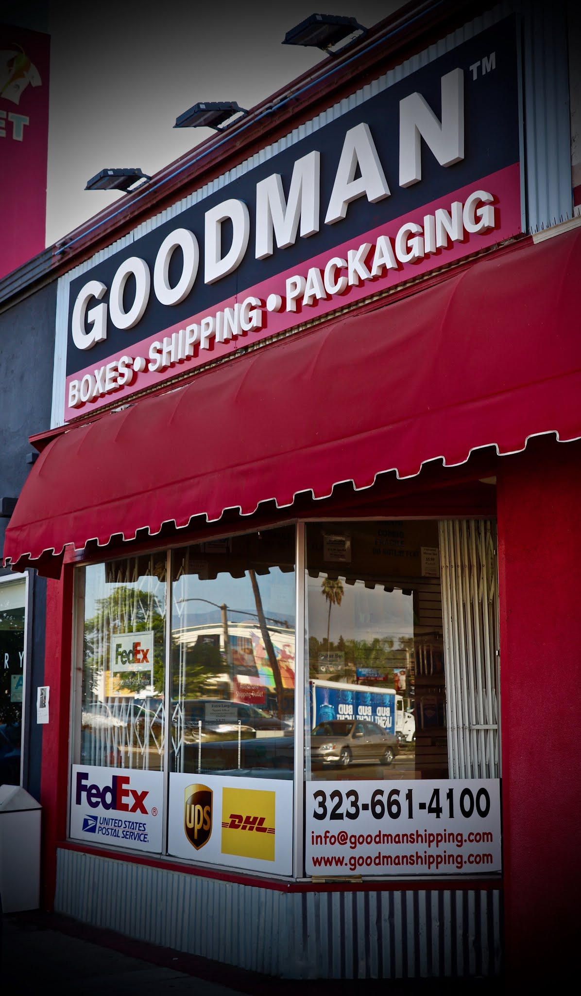 Goodman Packing & Shipping-Atwater: UPS shipping store, packing, crating, moving and shipping supplies serving Atwater Village and Glendale